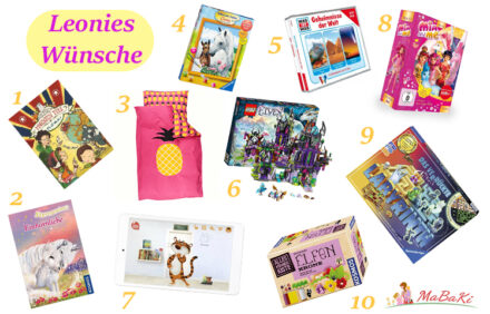 Leonies Wunschzettel: 10 Geschenketipps für 6-jährige Mädchen zu Weihnachten