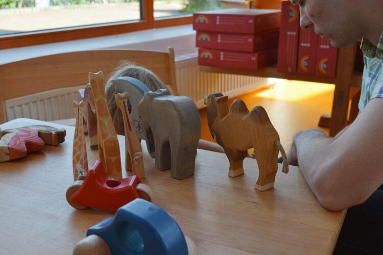 Ostheimer Tiere Werk Werkstatt Führung