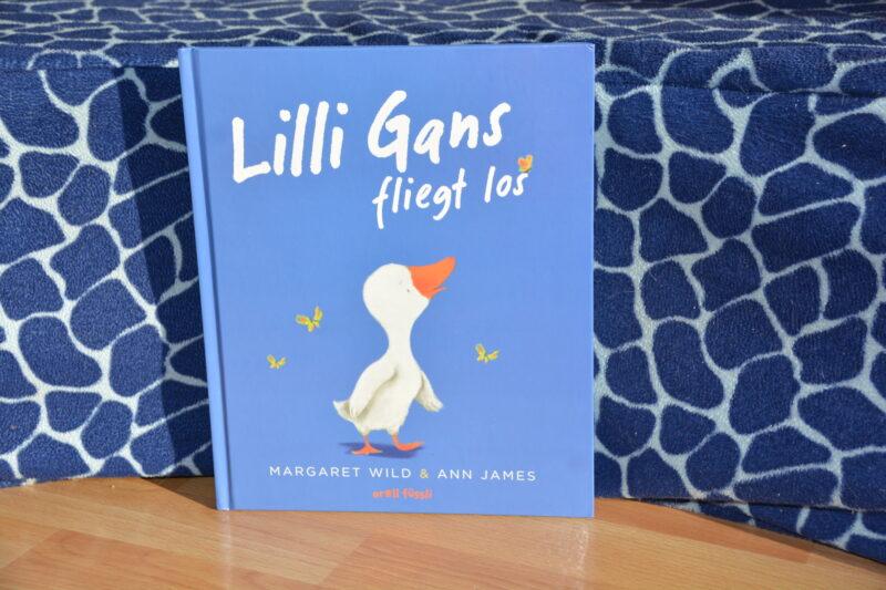 Lilli Gans fliegt los: Ein Buch über die Angst und das Vertrauen