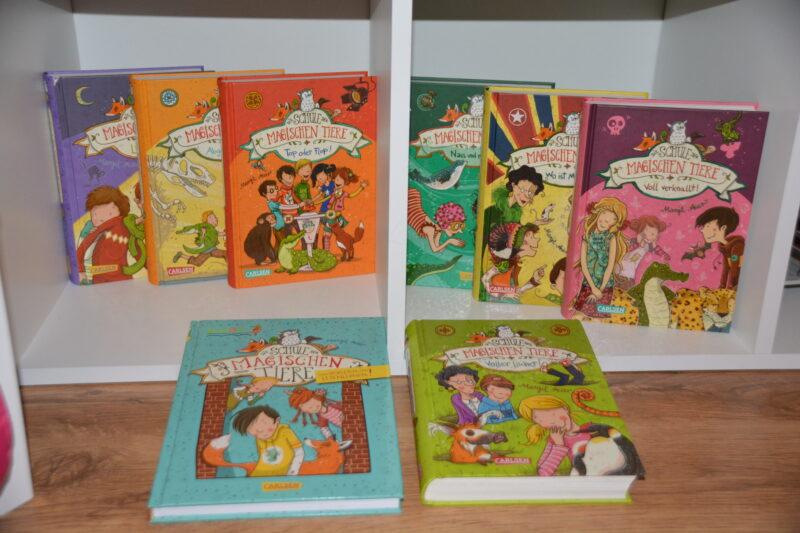 Eine der besten Kinderbuchreihen für Kinder ab 6 Jahren: Die Schule der magischen Tiere + VERLOSUNG