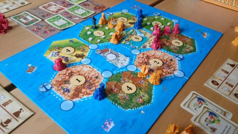 Die Siedler von Catan – Junior: Setzt die Segel, wir erobern die Insel!