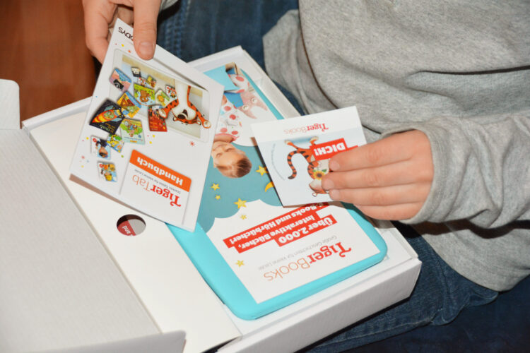 TigerTab Kindertab Kindertablet TigerBooks Tigermedia