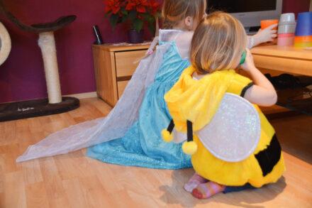 MIFUS.de: Helau, Alaaf – wir feiern Fasching mit der Eisprinzessin und der kleinen süßen Biene + GEWINNSPIEL