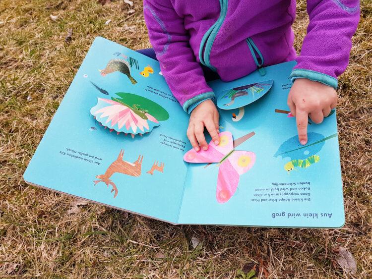 Wunderdinge der Natur Britta Teckentrup Kinderbuch Bilderbuch Pappbilderbuch Frühling