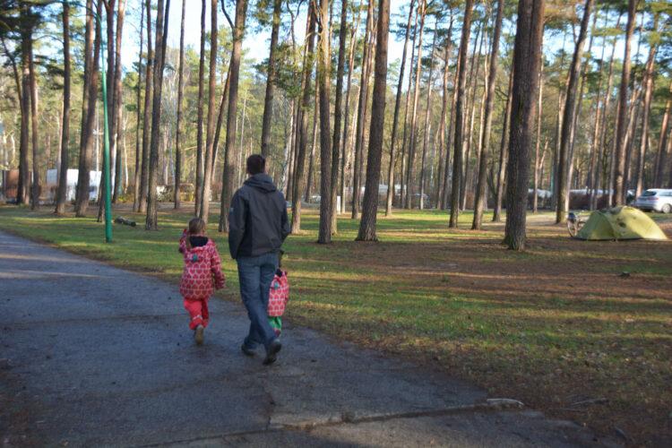 Campingplatz Krossinsee Berlin Familie Familienurlaub Familienauszeit campen Ferienhaus