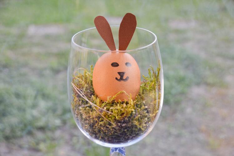 UHU rettet die Eierschalen basteln für das Osterfest Ostereier Ostern Kinder Osterbastelei