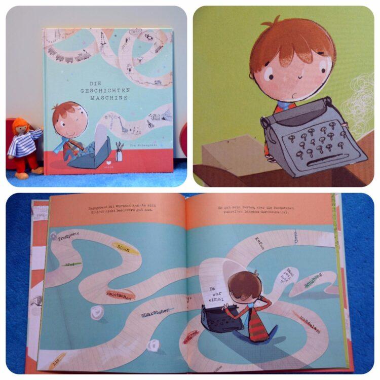 Die Geschichtenmaschine Buch Kinderbücher Kinderbuch