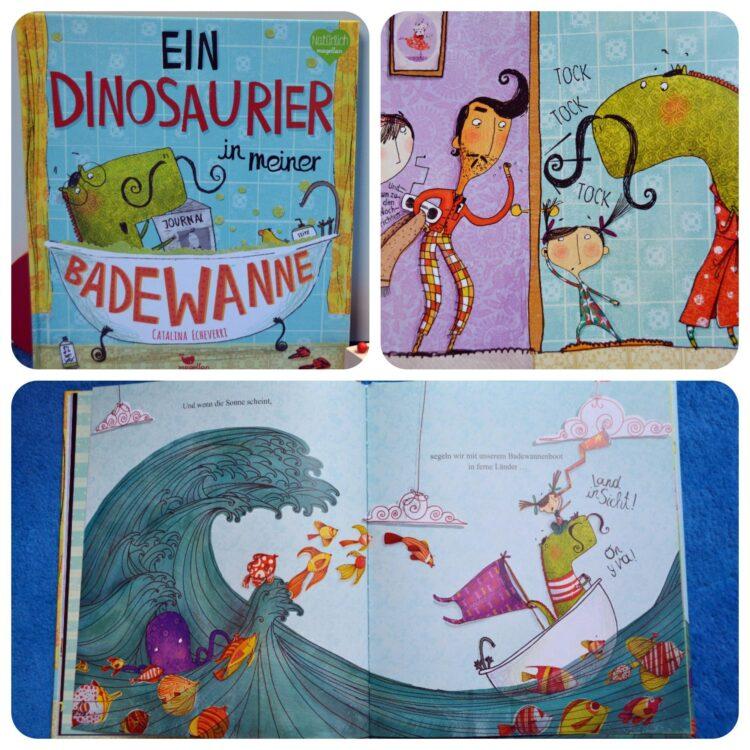 Ein Dinosaurier in meiner Badewanne Buch Kinderbücher Kinderbuch
