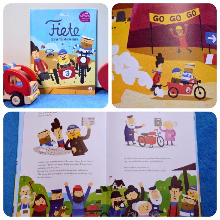 Fiete Das verrückte Rennen Buch Kinderbücher Kinderbuch