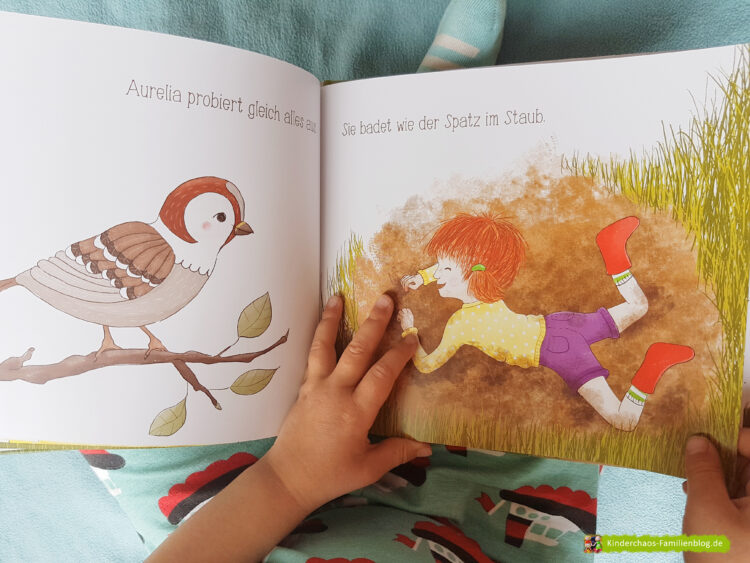 Kleiner Dreckspatz Aurelia Dorothea Flechsig Suse Bauer Glückschuh Verlag Kunderbuch