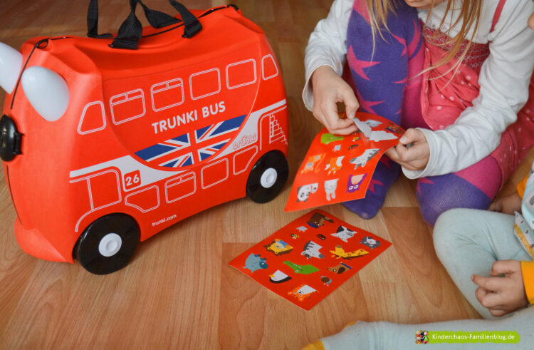 Trunki Boris London Bus