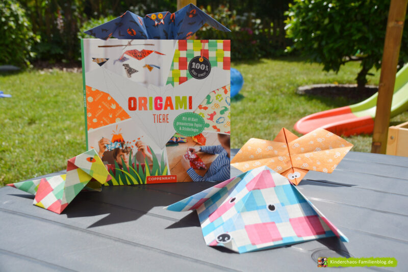 Origami Tiere: Tierisches Bastelvergnügen und eine kleine Pause vom Sommer + VERLOSUNG
