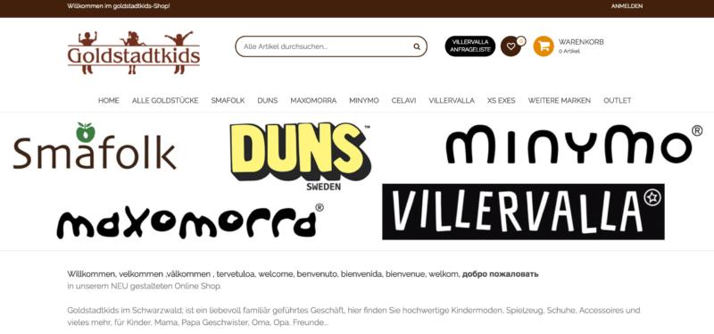 Goldstadtkids Bildschirm