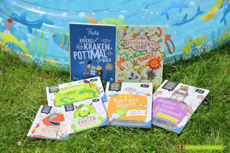 Ferienbeginn! Zeit für unsere liebsten Kreativ- und Rätselbücher: Fiete, die Schule der magischen Tiere und Lesen, Lachen, Selbermachen + GEWINNSPIEL