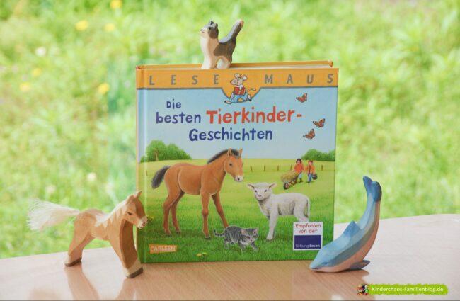 Lesemaus Sonderband: Die besten Tierkinder-Geschichten + GEWINNSPIEL