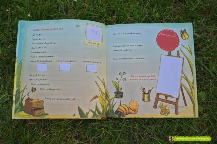 Kindergarten Kindergartenkind Die kleine Hummel Bommel Freundebuch