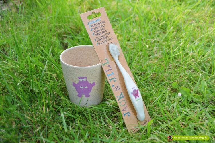 Kindergarten Kindergartenkind Jack n Jill bambus zahnbürste zahnputzbecher biologisch umweltfreundlich nachhaltig