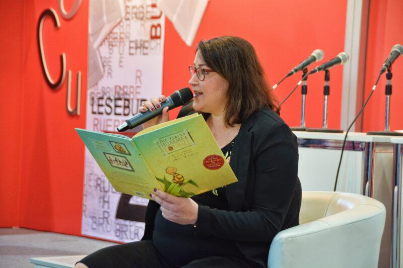 Die kleine Hummel Bommel: Interview mit Britta Sabbag