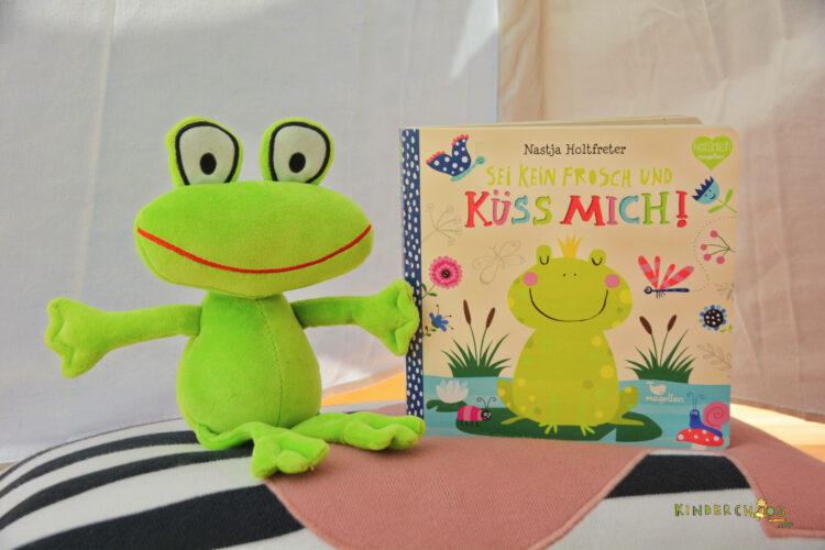 Mitmachbuch Sei kein Frosch und küss mich!