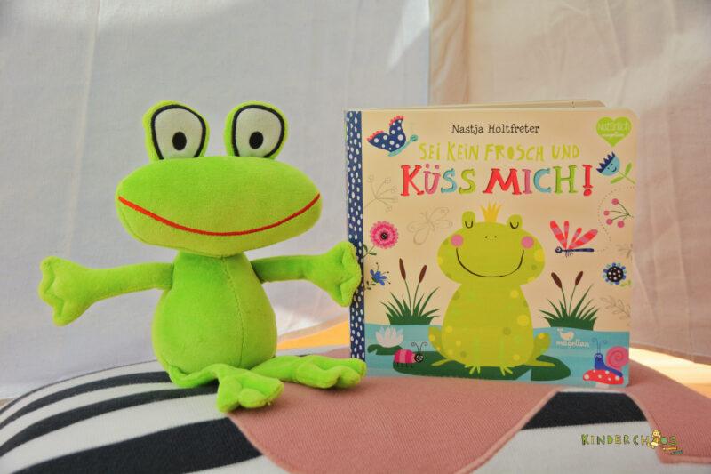Ein Mitmachbuch zum Knutschen: Sei kein Frosch und küss mich!