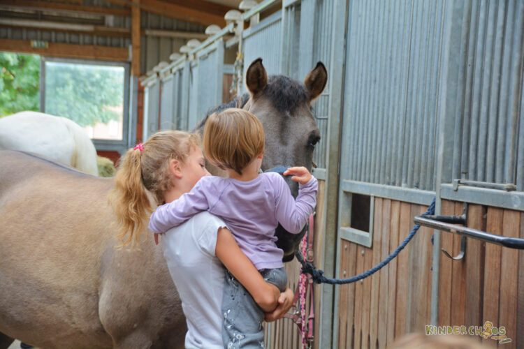 Smafolk Herbst Reiterhof Pferde Stall Kinderkleidung Äpfel Rehe