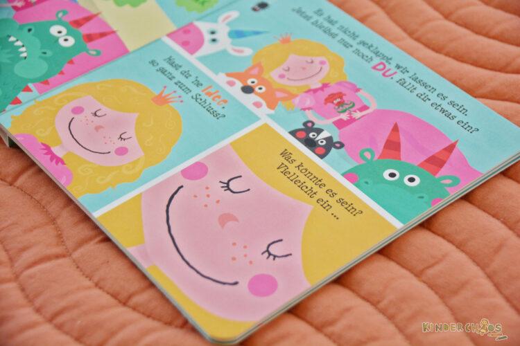 Wer macht Dornröschen wach? Magellan Verlag Kinderbuch Mitmachbuch