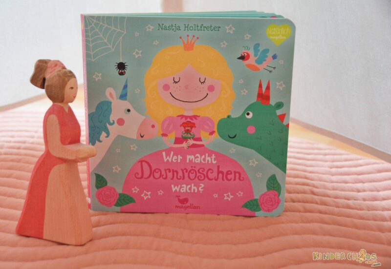 Das Mitmachbuch mit dem tiefen Schlaf: Wer macht Dornröschen wach?