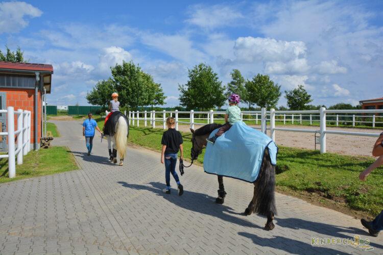 Pferdestall Reiterhof Ausritt