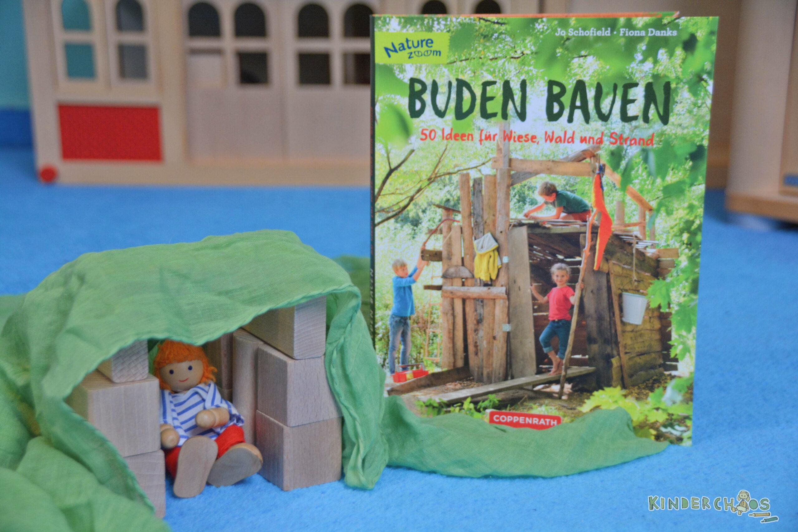 Buden bauen: 50 Ideen für Wiese, Wald und Strand:
