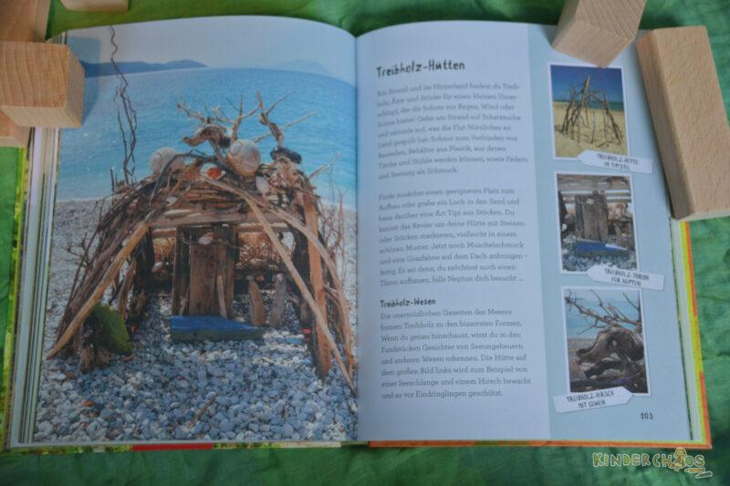Buden bauen Treibholz Coppenrath