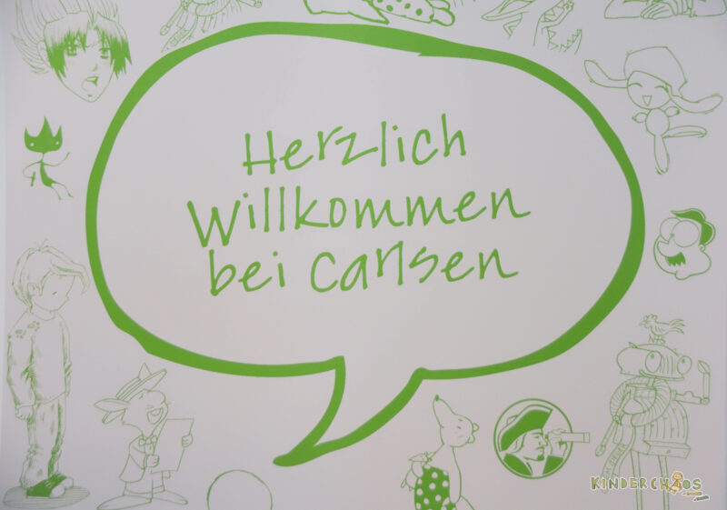 Carlsen Bookfamilia Willkommen