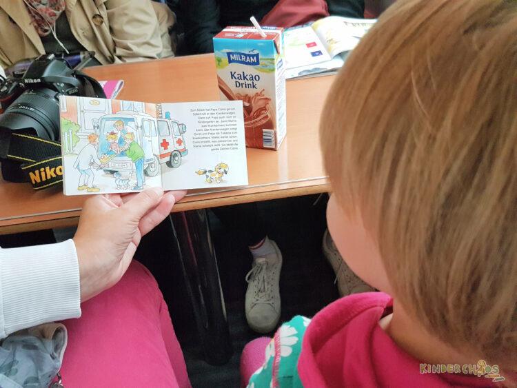 Zugfahrt mit Kind, wir lesen Conni, Carlsen Verlag
