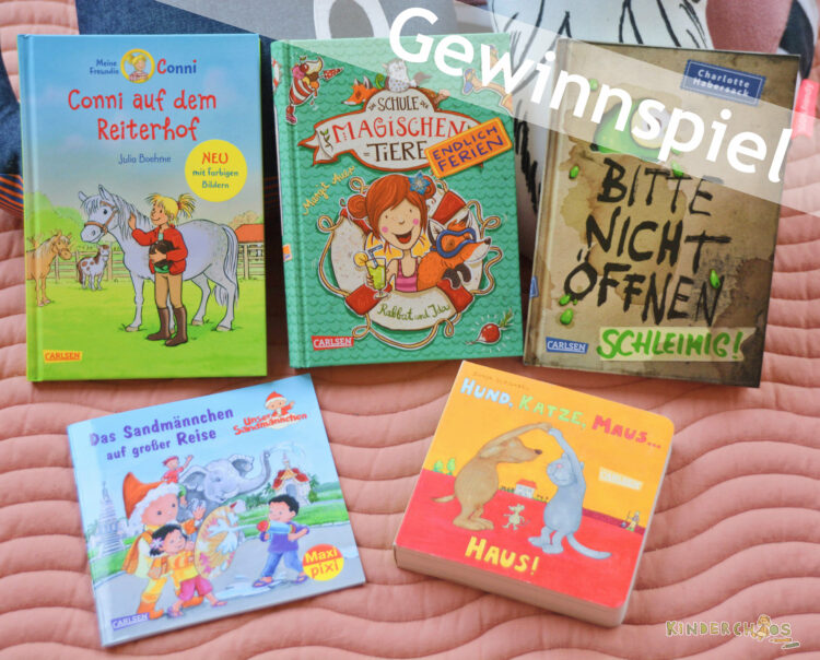 Carlsen Verlag Hamburg CarlsenBookFamilia Kinderbücher Kinderbuch Gewinnspiel