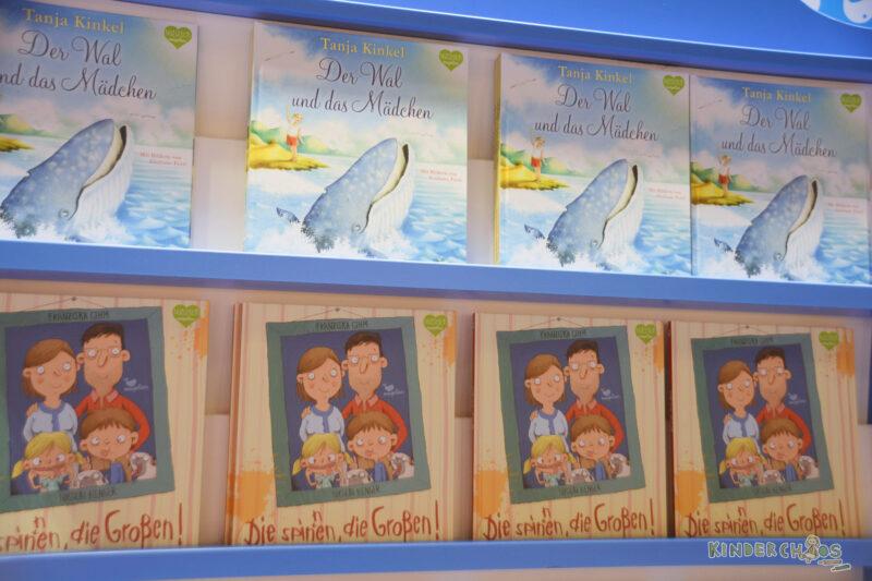 Frankfurter Buchmesse Der Wal und das Mädchen Die spinnen die, die Großen