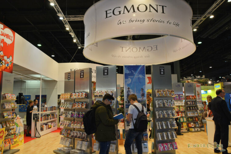 Frankfurt Frankfurter Buchmesse 2017 Egmont