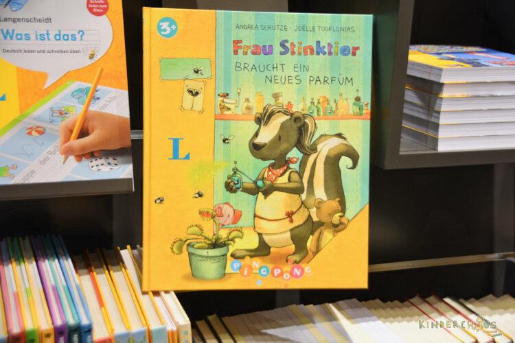Frankfurt Frankfurter Buchmesse 2017 Langenscheidt Frau Stinktier