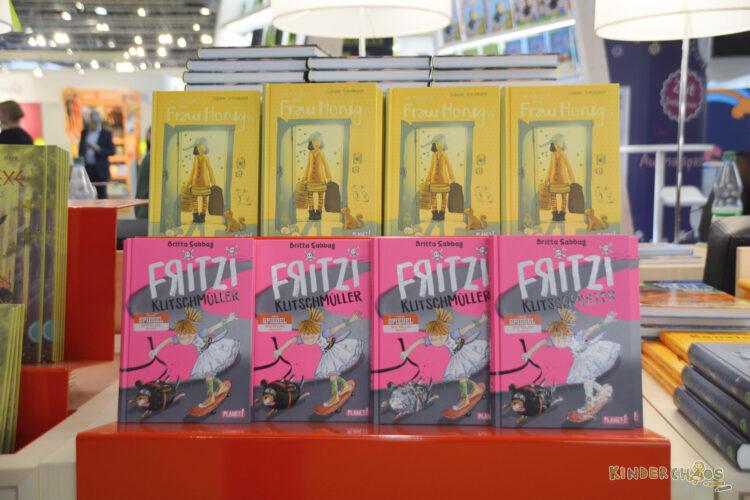 Frankfurt Frankfurter Buchmesse 2017 Frau Honig Fritzi Klischmüller Kinderbücher