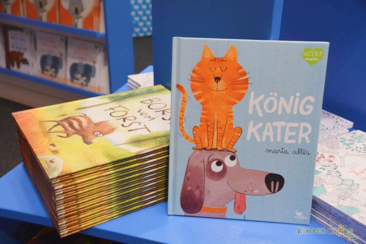 Frankfurt Frankfurter Buchmesse 2017 König Kater Borst vom Forst Kinderbücher