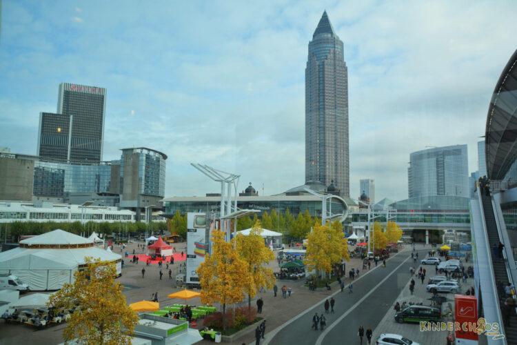 Frankfurt Frankfurter Buchmesse 2017 Messeplatz