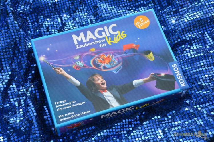 Magic Zaubershow für Kids Zauberkasten für Kinder Zauberei Kosmos