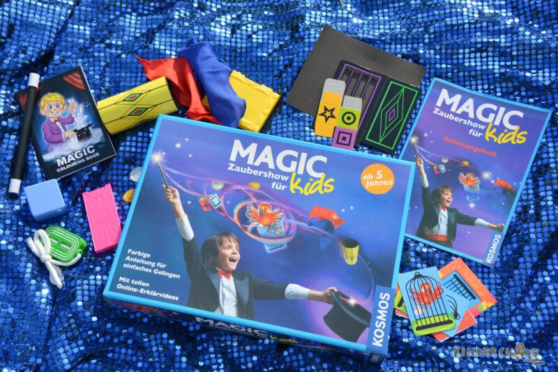 Zauberei mit der Magic Zaubershow für Kids von Kosmos + Gewinnspiel