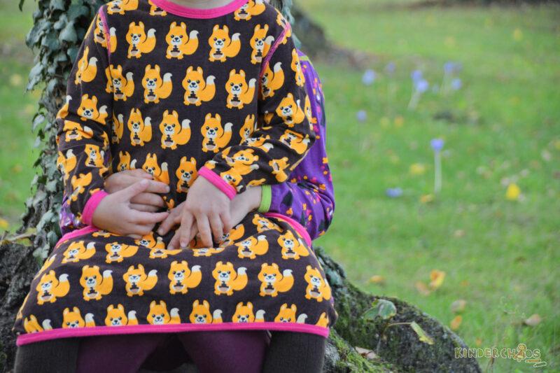 Maxomorra Herbstkollektion Squirrel Geschwister
