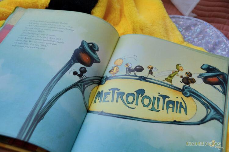 Die kleine Hummel Bommel sucht das Glück Kinderbuch Bilderbuch Kinderbücher