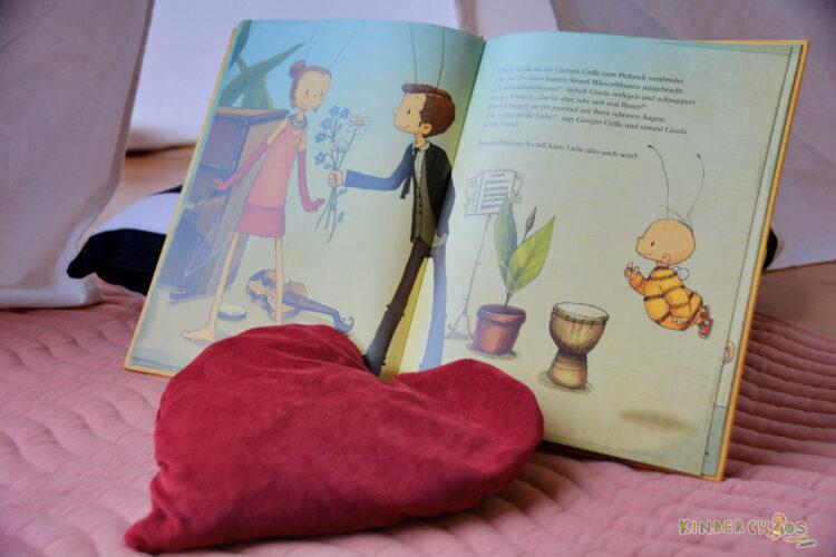 Die kleine Hummel Bommel und die Liebe Kinderbuch Kinderbücher Maite Kelly Britta Sabbag Joelle Tourlonias