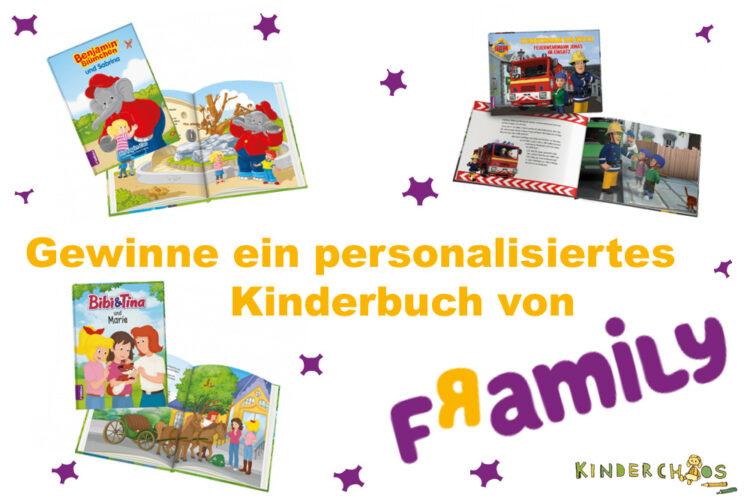 Framily personalisiertes Kinderbuch personalisiert Namen 1. Adventskalendertürchen Adventskalender 2017
