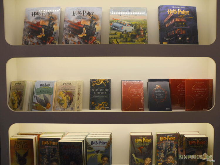 Frankfurter Buchmesse Bücher Carlsen Verlag Harry Potter Schmuckausgabe