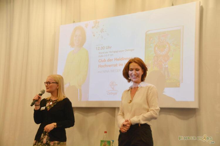 Frankfurter Buchmesse Oetinger Verlag Club der Heldinnen