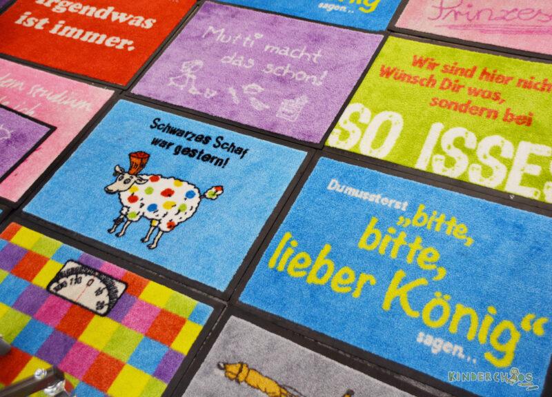 Frankfurter Buchmesse Fußmatten