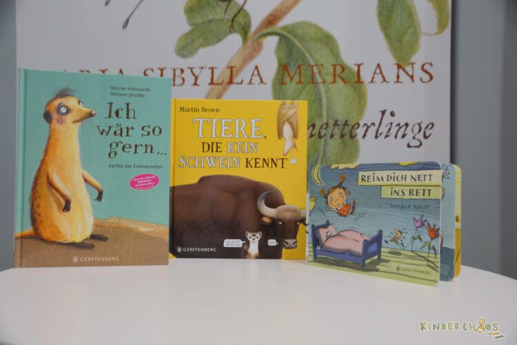 Frankfurter Buchmesse Gerstenberg Verlag Ich wär so gerne... Tierei die kein Schwein kennt Reim dich nett ins Bett