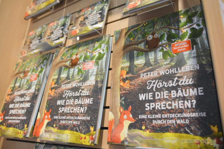 Frankfurter Buchmesse Oetinger Verlag Hörst du wie die Bäume sprechen?